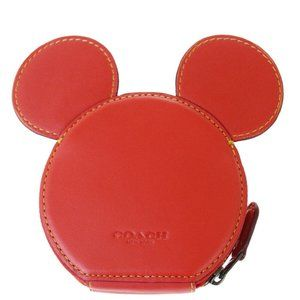 Coach Disney F59071 Leather Coin Purse/coin Case